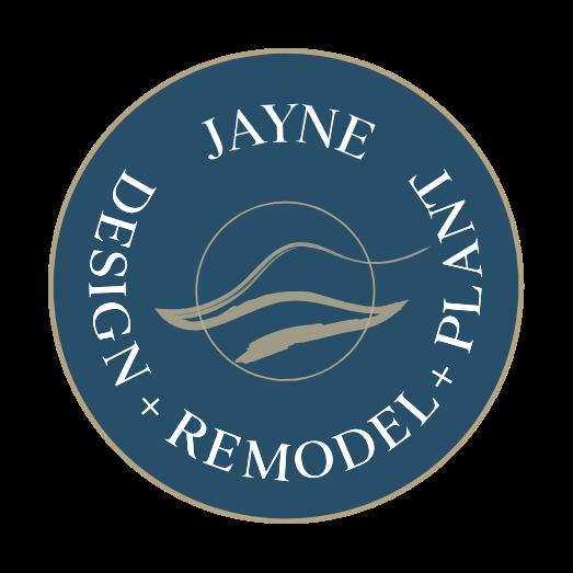 Jayne Design + Remodel + Plant Logo