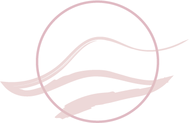 Pink wave icon