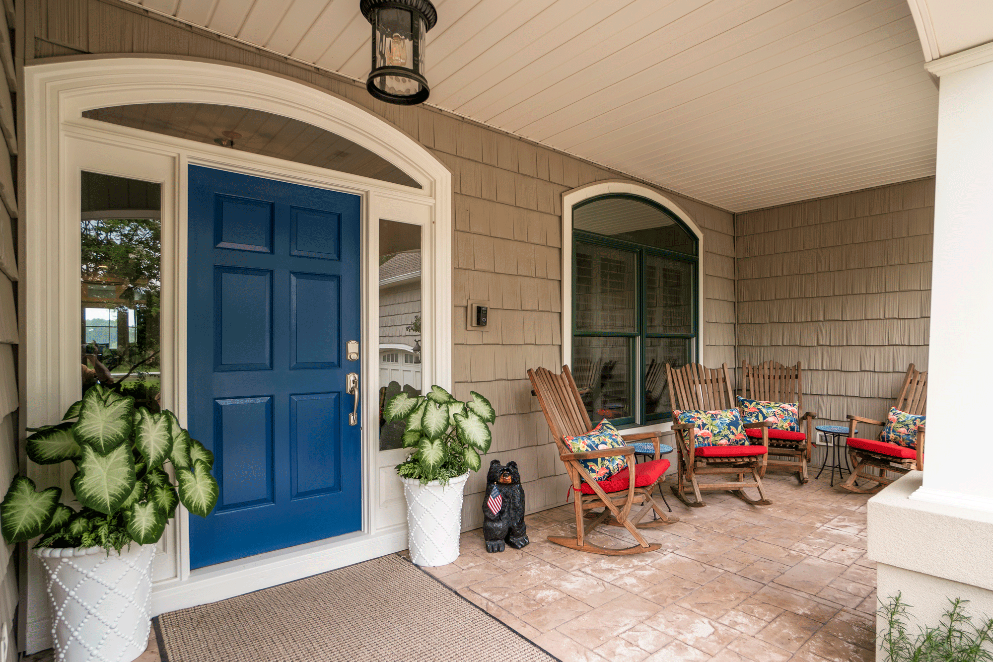 outdoor space design front porch