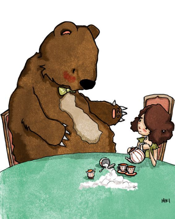 This Bear is Bad at Tea Parties