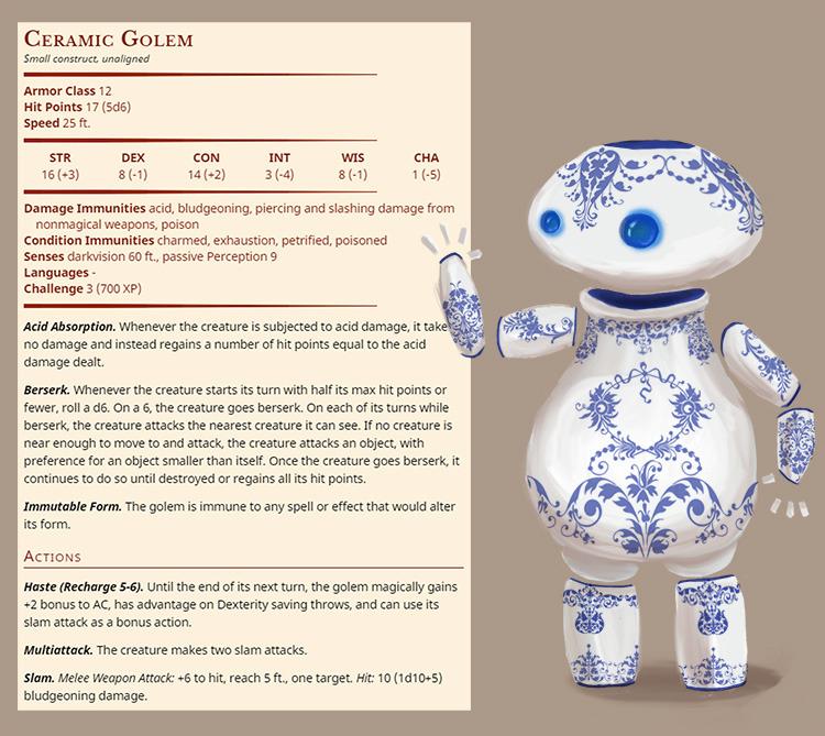 Ceramic Golem