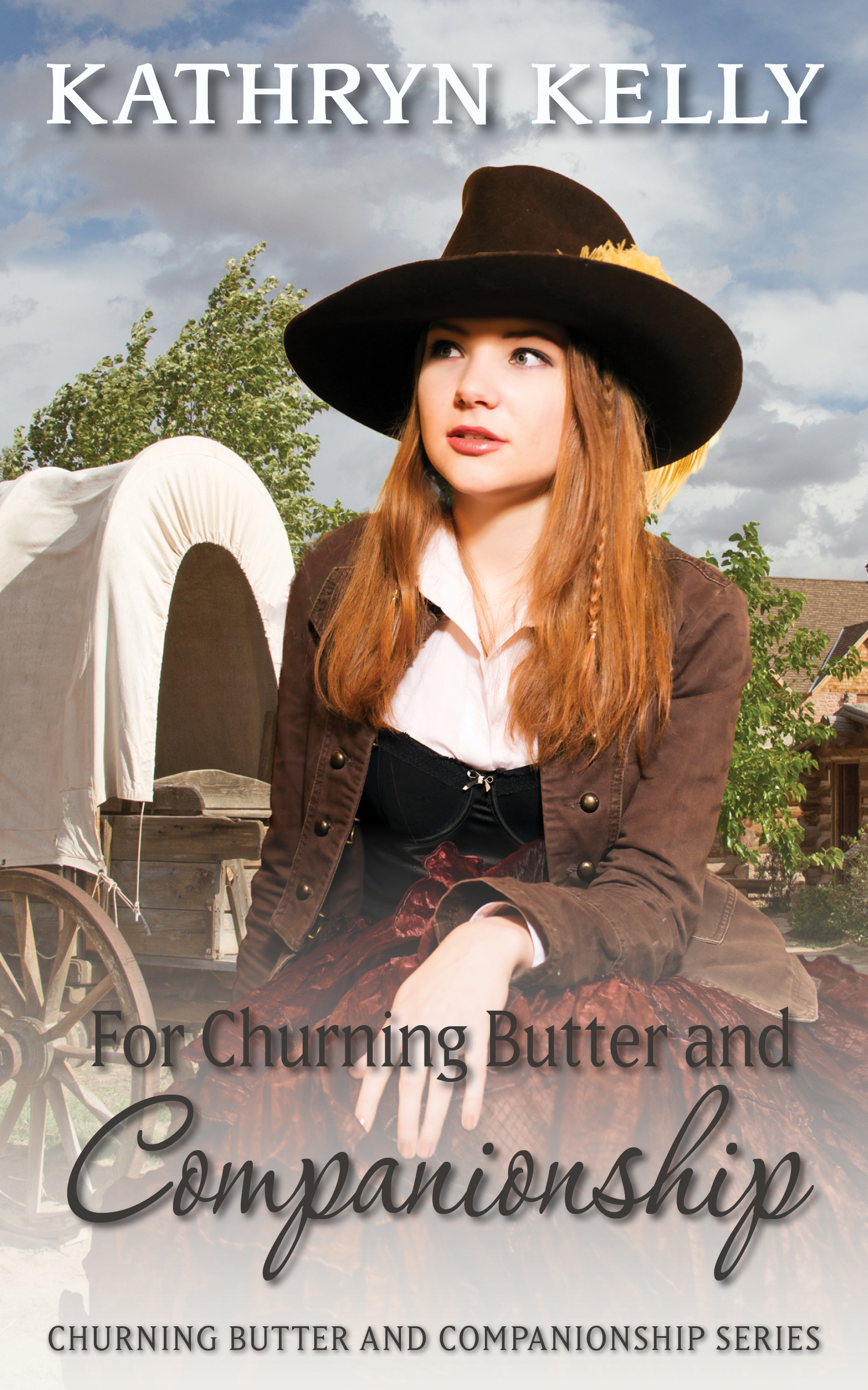 For Churning Butter and Companionship - When Charlotte set off on the western trail with little more than her prized horse, she never expected so much dust.And smoke.As could be expected, things on the trail didn't go as planned.First in a new series. If you like Kathryn Kelly's Civil War series, follow her into the untamed west.