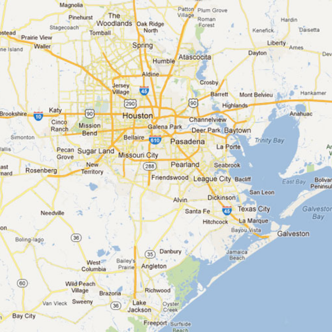 Coverage Area - We cover the entire Houston Area including all of Harris, Fort Bend and Montgomery Counties.