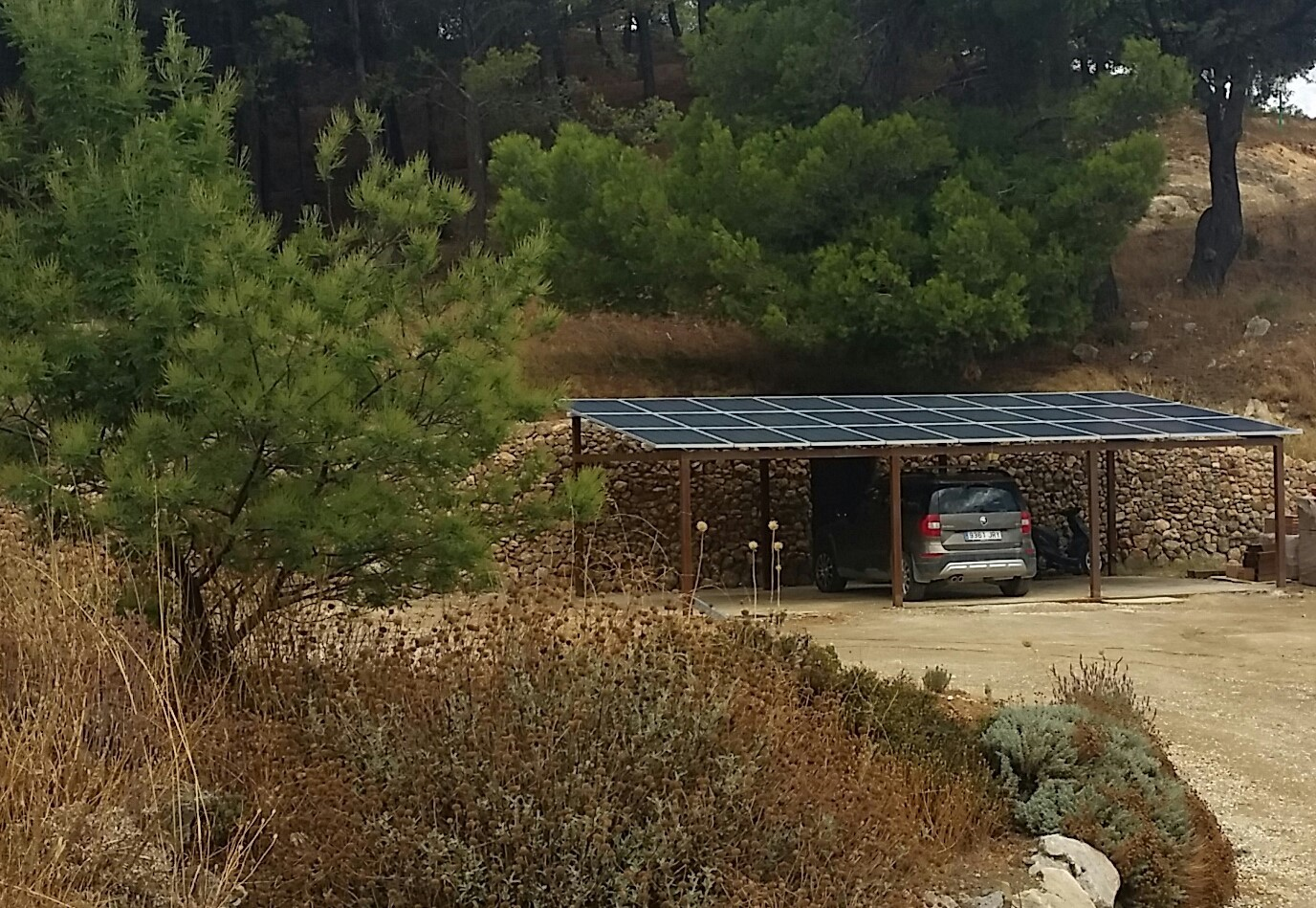 """Sustainable"""" off Grid"""" Holidays - In the Sierra de Las Nieves National Park Andalucia"""