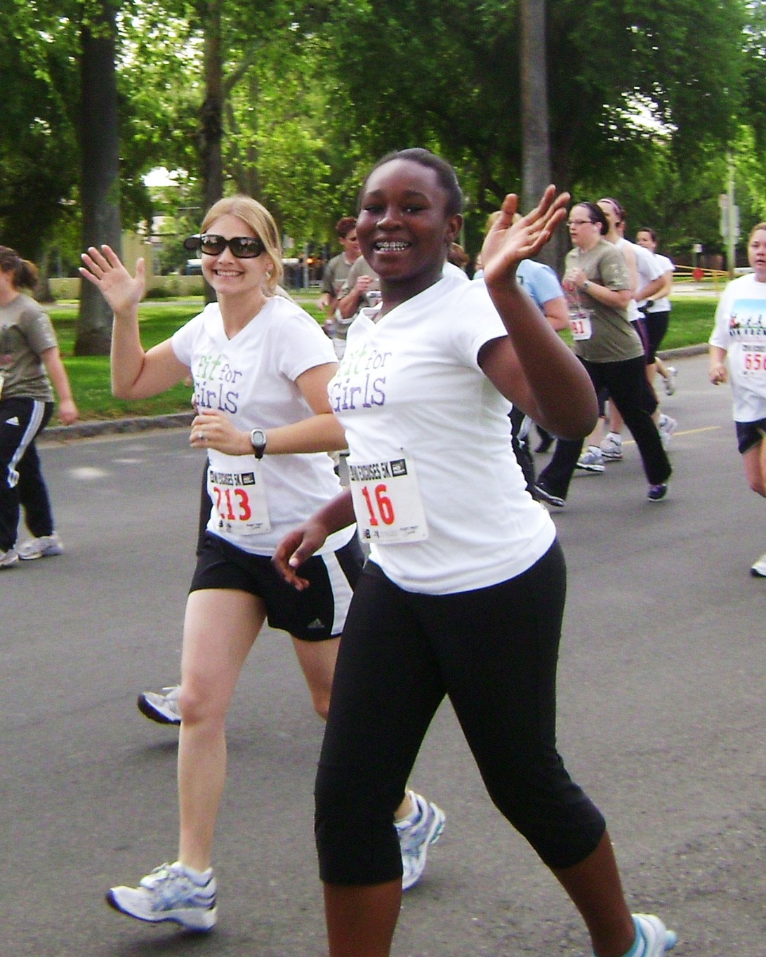 Our Vision - Fit for Girls is a free 9 week program that exists to improve the overall health and well-being of adolescent girls by helping them prepare mentally and physically for a 5K race. Fit for Girls empowers middle-school girls to build confidence and resilience, develop life skills, and experience success as they cross the first of many literal and figurative finish lines!Learn More