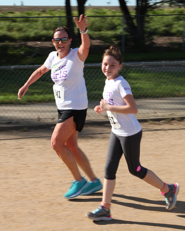 I run because. - It brings me peace, joy, and strength.