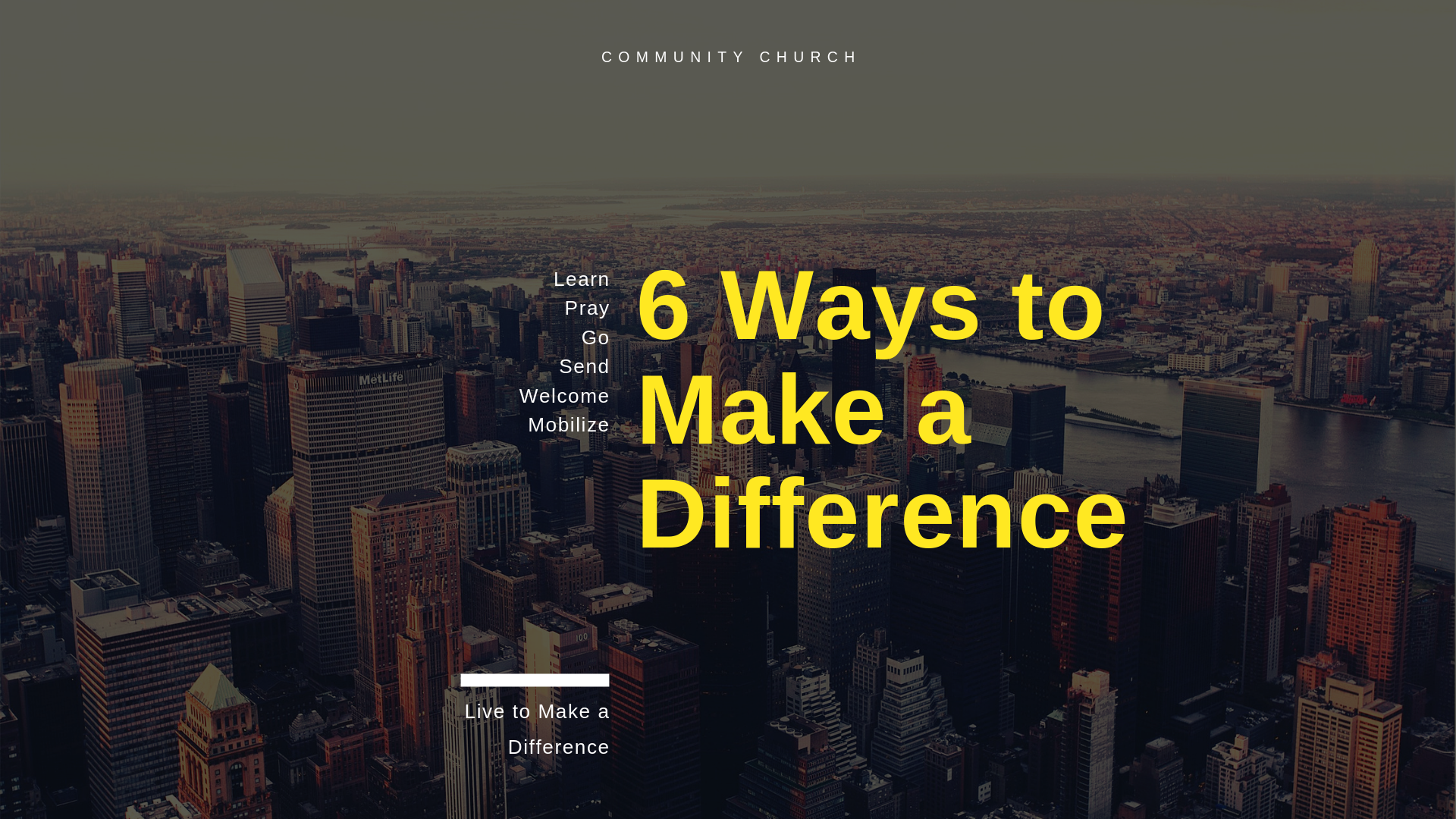 6 Ways to Live to Make a Difference.png