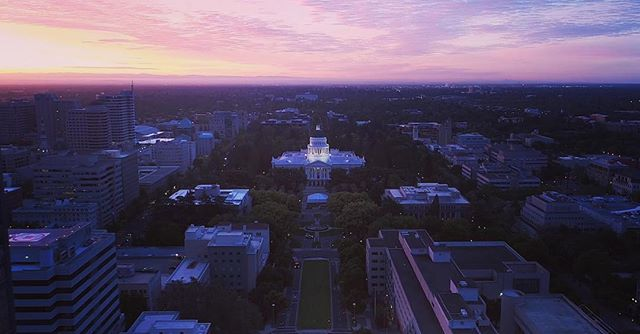 Awesome colab project with @skyretina last year ••• #shortfilm #sunrise #sky #videoproduction #cinematography #directorofphotography #california #statecapitol #dji #phantom4pro #c200 #beautiful #downtownsac #sacramento #sacramentophotographer #sacramentoproud