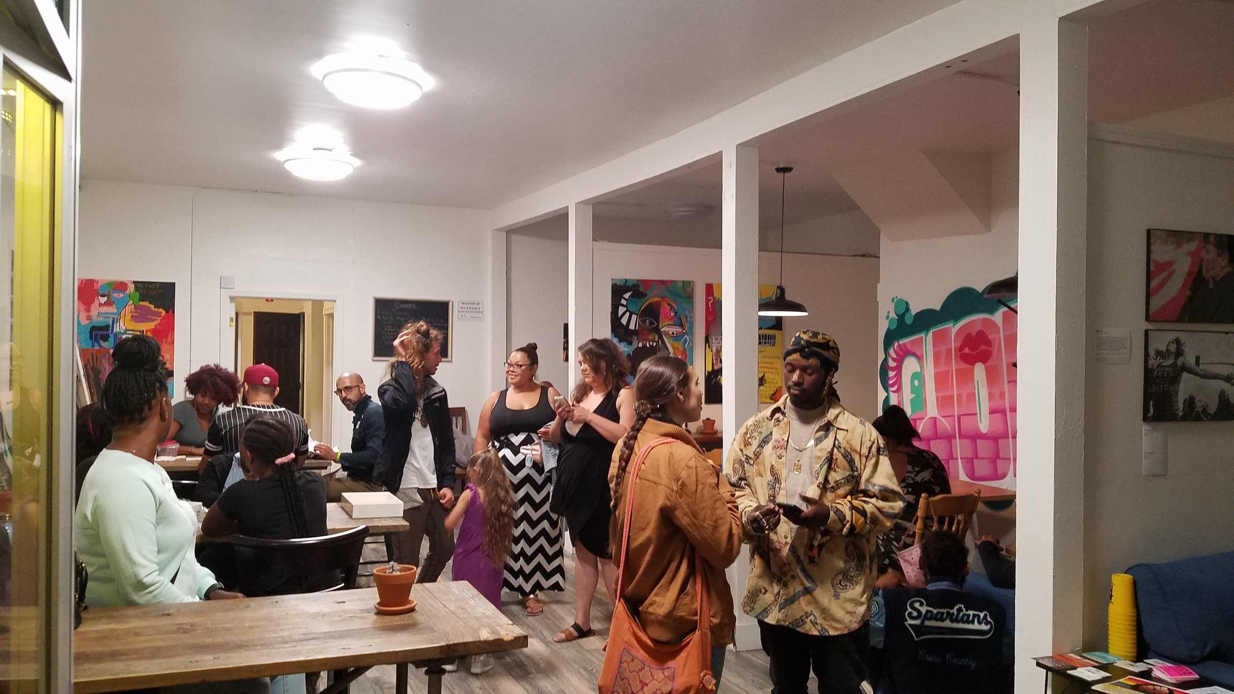 Casual gatherings.  homiey Fruitvale (Oakland) Event Space