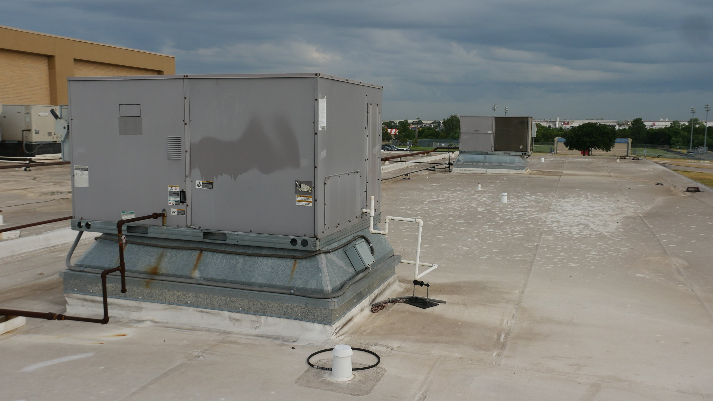Five percent of the bond proposal would address aging HVAC systems and roofs.