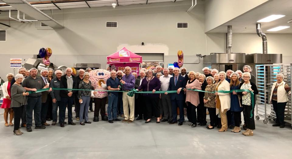 Our BMG Bakery ribbon cutting