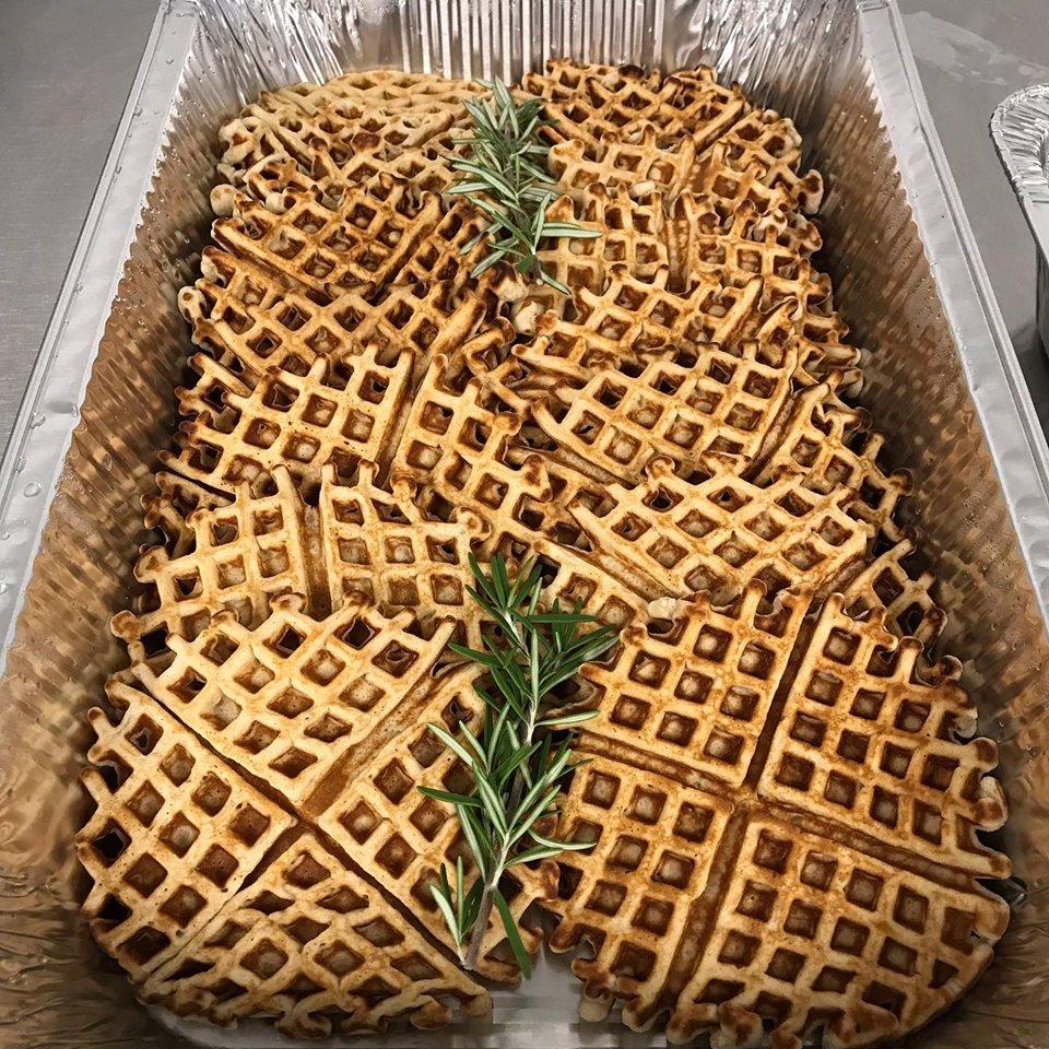 Waffle Chic + Lovely Enterprises