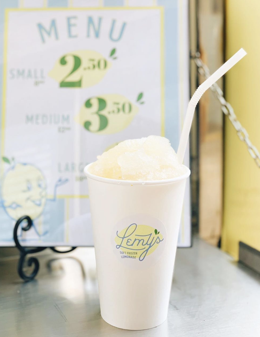 Lemy's Soft Frozen Lemonade - Lemy's grand opening is on August 20.Find them popping up all across Waco during Waco Restaurant Week!