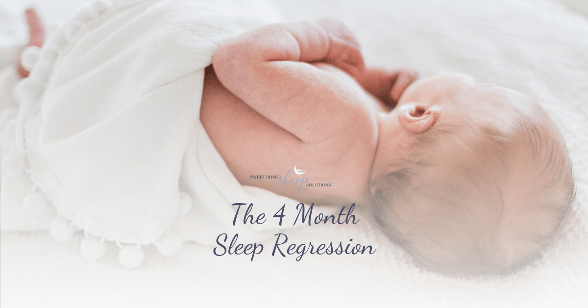 The four 4 month sleep regression.