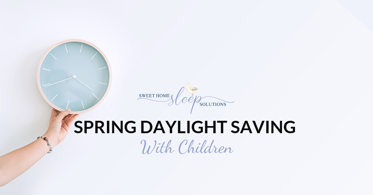 Spring Daylight Savings with Children
