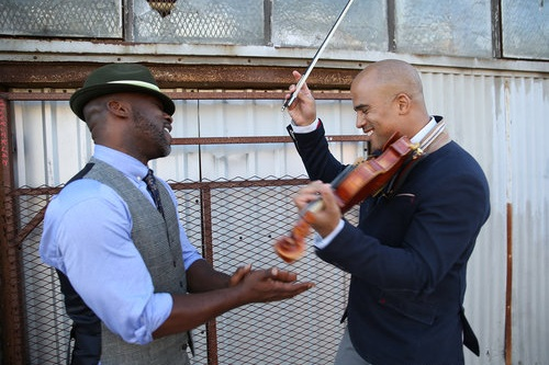 Blackbird, Fly - a concert for body, voice and strings with Marc Bamuthi Joseph