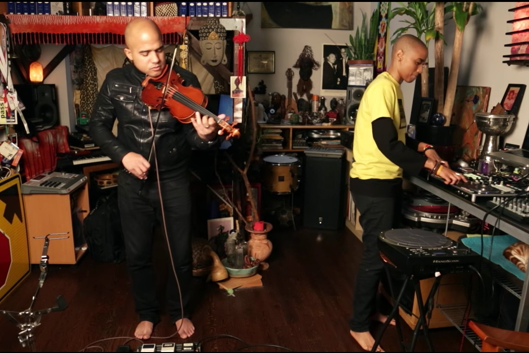 DUO 1804 - two Haitian American composers explore classical and electronic music