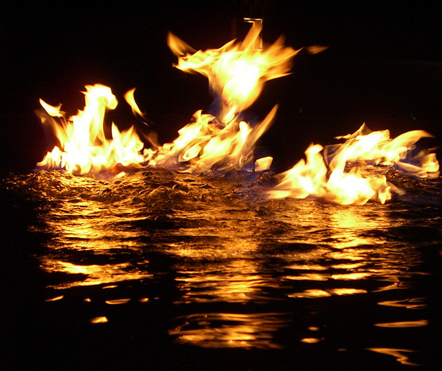 Yin and Yang - Fire and Water are two common examples of Yin and Yang in nature.