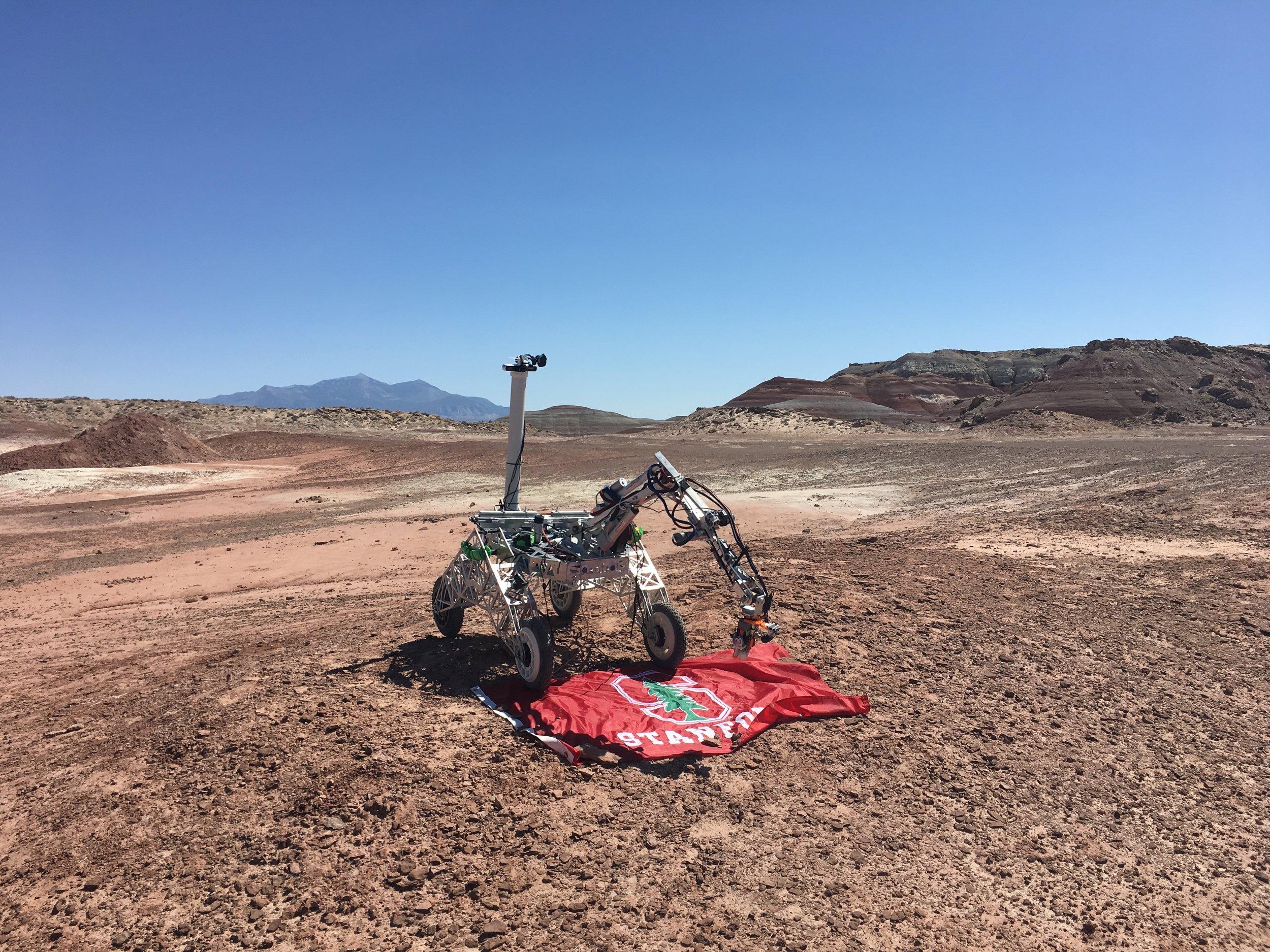 Clover the Rover, our 2017-18 rover