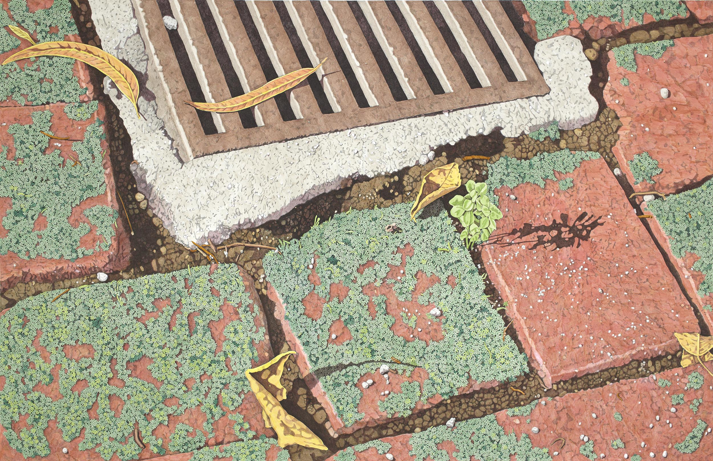 The Garden Grate, 35 x 55 inches