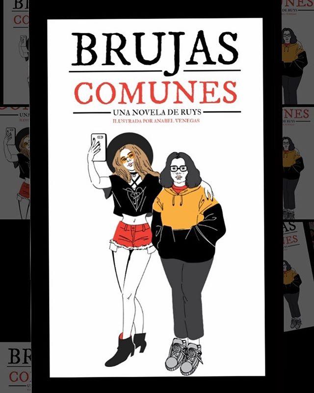 """Hola, esta es la portada de mi nueva novela: """"Brujas comunes"""", arte por @anabel_venegas. Estará a la venta este mes por @amazonkindle y en formato impreso desde @kichink. Espero que les guste tanto leerlo como yo amé escribirlo! . . . #bookstagram #witchythings #escritoresdeinstagram"""