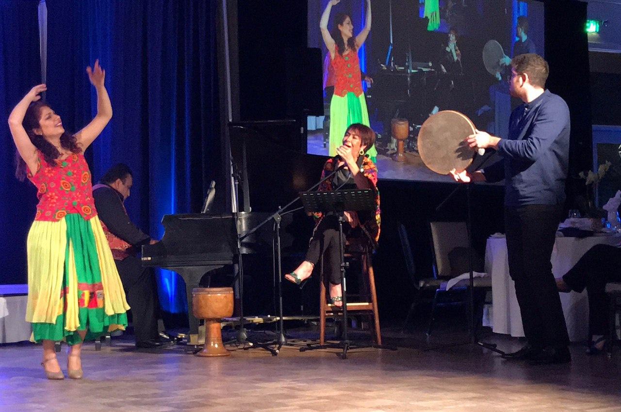 Beautiful performance by Ziba Shirazi, Ghazal Hemmat, Shahin Yousefzamani and Nariman Assadi.