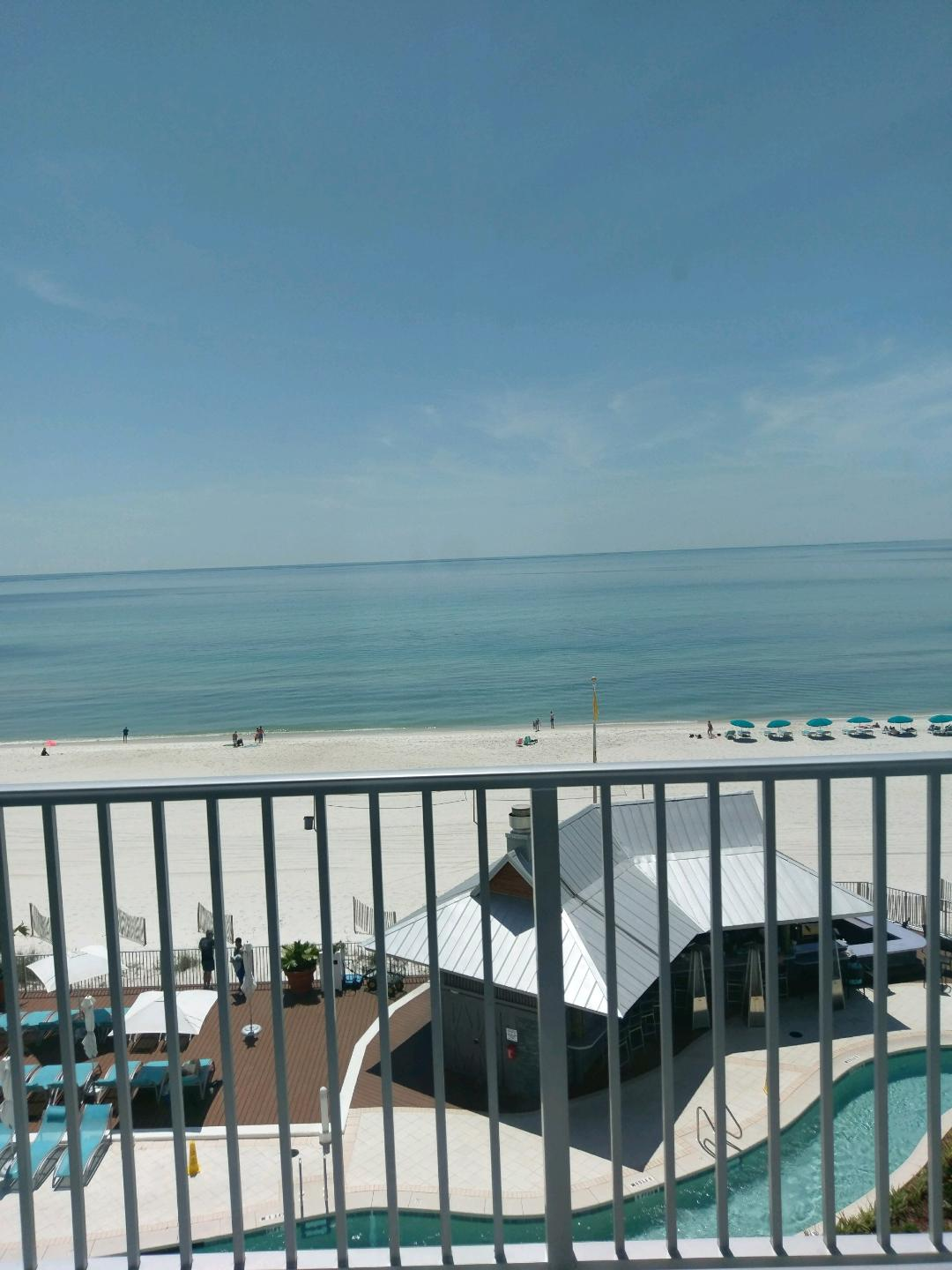 Panama City Beach view from our hotel