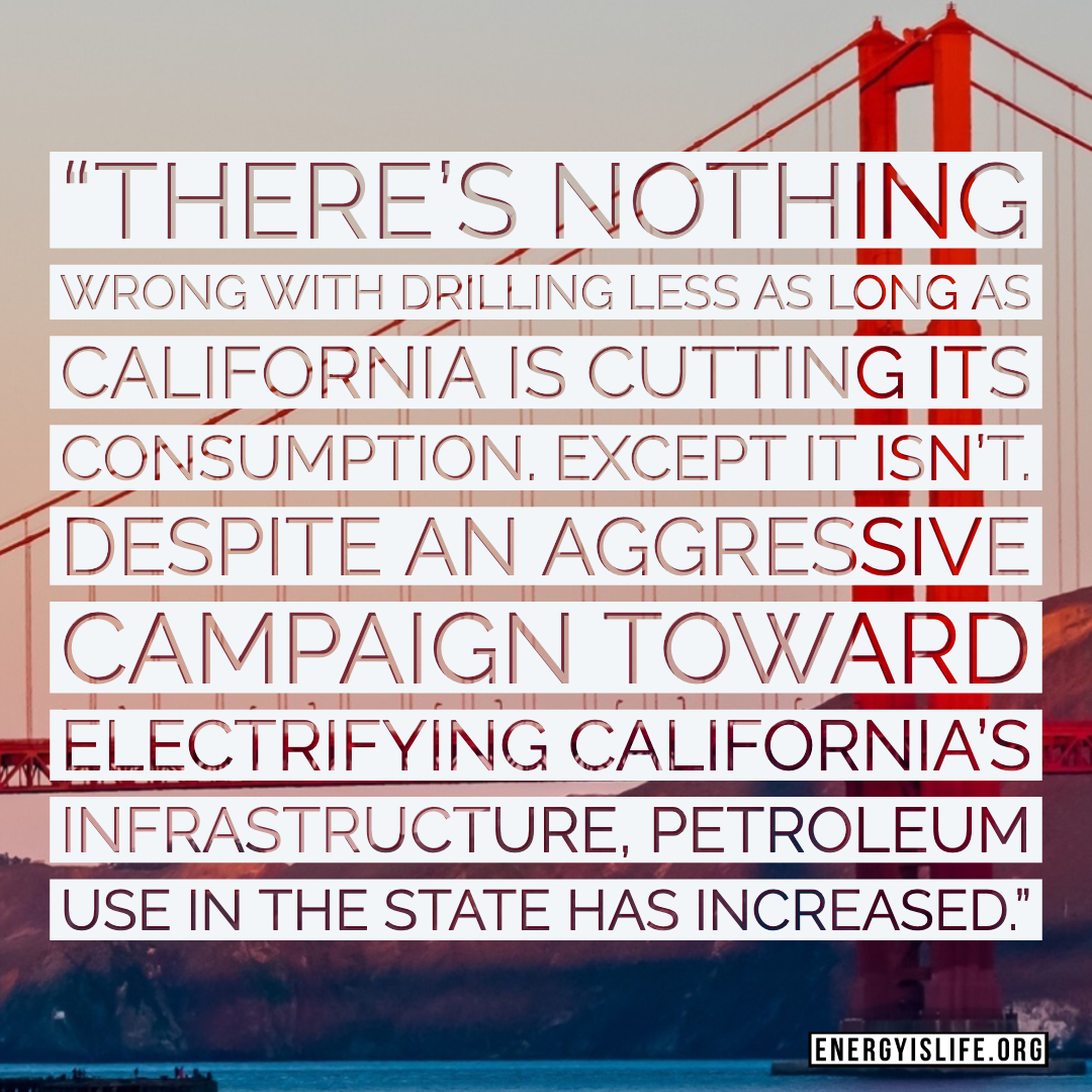 - Read more about it here: https://www.forbes.com/sites/rrapier/2019/06/21/californias-oil-hypocrisy-presents-a-national-security-risk/