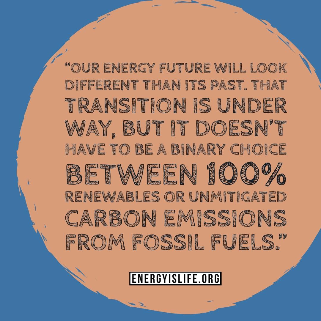 - The fact is that renewable energy sources cannot be our only source of energy as they are not able to produce on demand as can other forms of energy, such as natural gas and nuclear. Neither can they be built without fossil fuels, so the idea that we can just legislate the end of the fossil fuel era is a pipe dream.Quote in image taken from: https://www.wsj.com/articles/compromise-can-promote-green-policy-goals-11564609113
