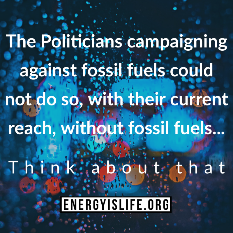 - Thought of the day: #Energyislife #energystrong #oilandgas #pipeline #energy #fossilfuels #environmental #goodnews #think #foodforthought #factsgreaterthanemotions #whyiamenergystrong #energystrongusa #energystrongcolorado