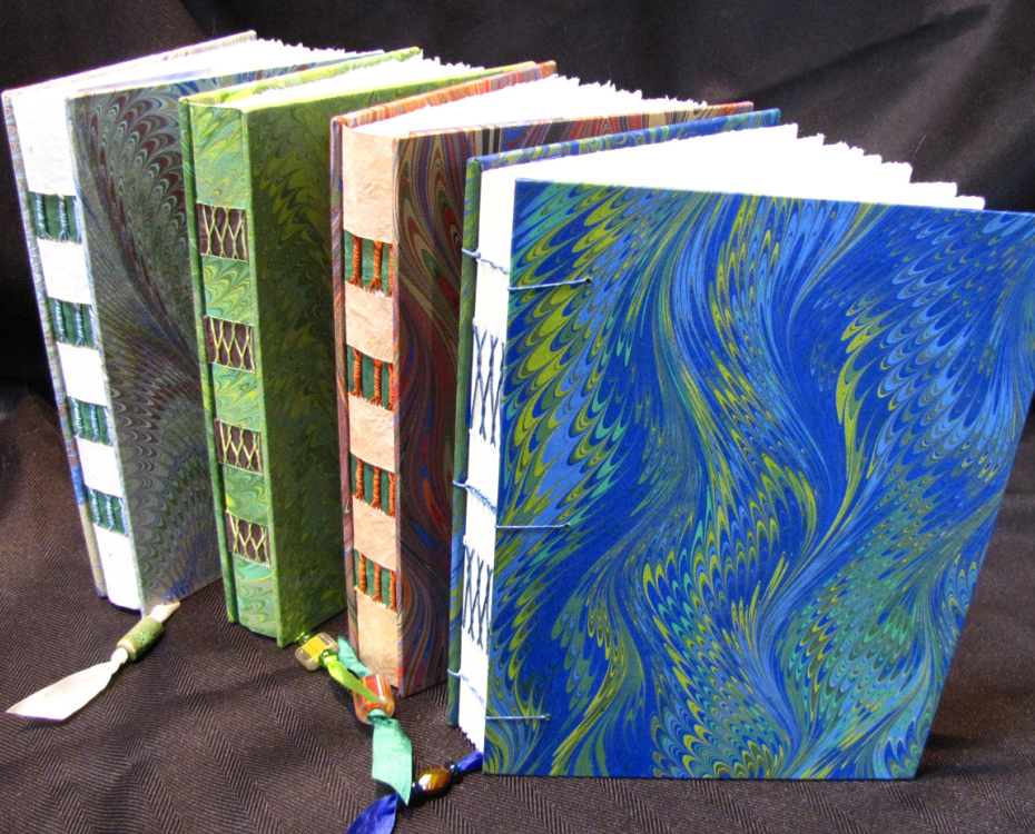 Beautiful Hand-Bound Journals -