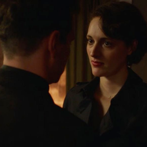 """13. """"Season 2, Episode 5"""" - The Hot Misogynist is really good at it, but Fleabag is really bad at pretending her heart (and body) aren't focused solely on reconnecting with the Priest. Claire loses her hair but gains a Klare, Bank Manager makes off with the pinny, and this time Fleabag gives Martin an emotional punch in the gut to follow up her physical punch to the face. Chrissie and Allie are perfectly balanced as they leave no stone unturned and no trench coat unopened.Listen on SpotifyListen on Apple PodcastsListen on Google Podcasts"""