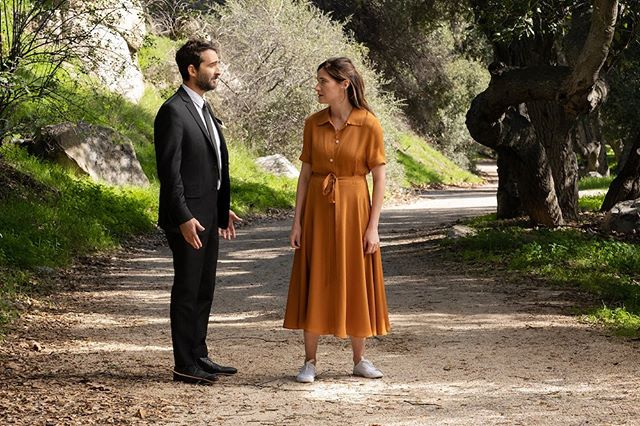 """Jay Duplass & Kathryn Hahn in the Finale of """"Transparent"""" ❤️ ©️Amazon/Erin Simkin  #setphotography"""