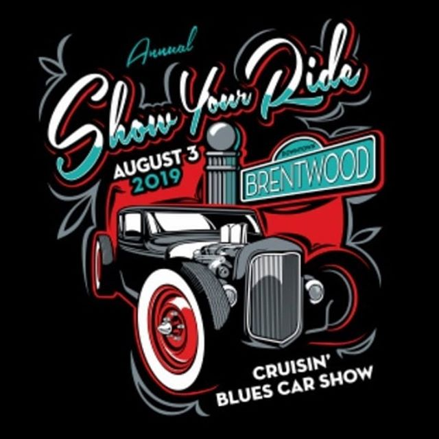Come downtown tomorrow and enjoy the show! Our street will be closed all day for the show so if you want to pop in, you will have to walk to us.  #carshow #blues #music #familyfun #saturday #downtown #brentwood #freeconcert #freecarshow #weekendfun