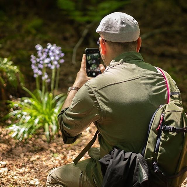 Smartphone or DSLR the goals on this tour are the same: capture great images and take in the beauty of Stanley Park's sea wall and old growth rainforest. It's great to be helping people get the best results from their gear, whatever they shoot with!
