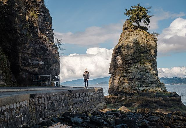 It's great to take guests to my favourite locations in the park for dramatic shots on-location. Around the sea wall and forest trails, there are so many opportunities if you know where to look. Thanks Paulina for letting me share this one!