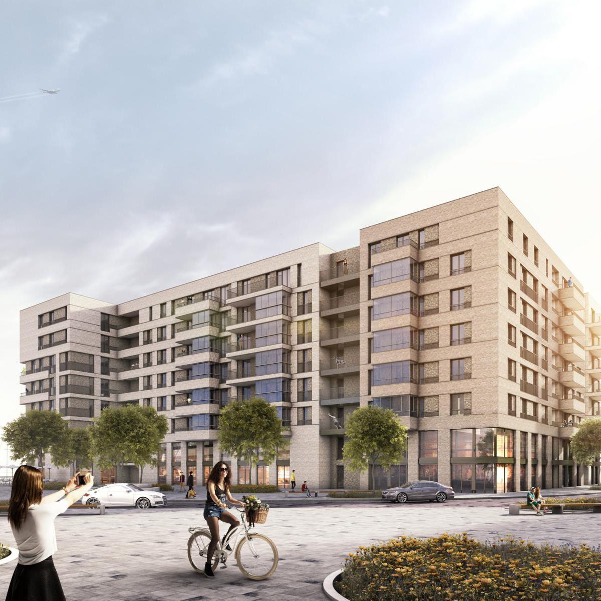 "gbc engineers reference project ""Baakenhafen"" in Hamburg"