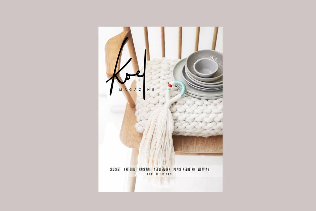 Macrame Pattern by Mini Swells  - Available at Koel Magazine