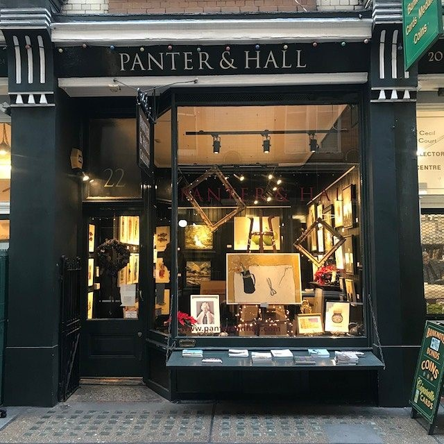 Panter & Hall - Opening Hours:Monday t0 Sunday 10am-6pm (closed for lunch 2-3pm)Call: 020 7399 9999Email: enquiries@panterandhall.comMember of LAPADA