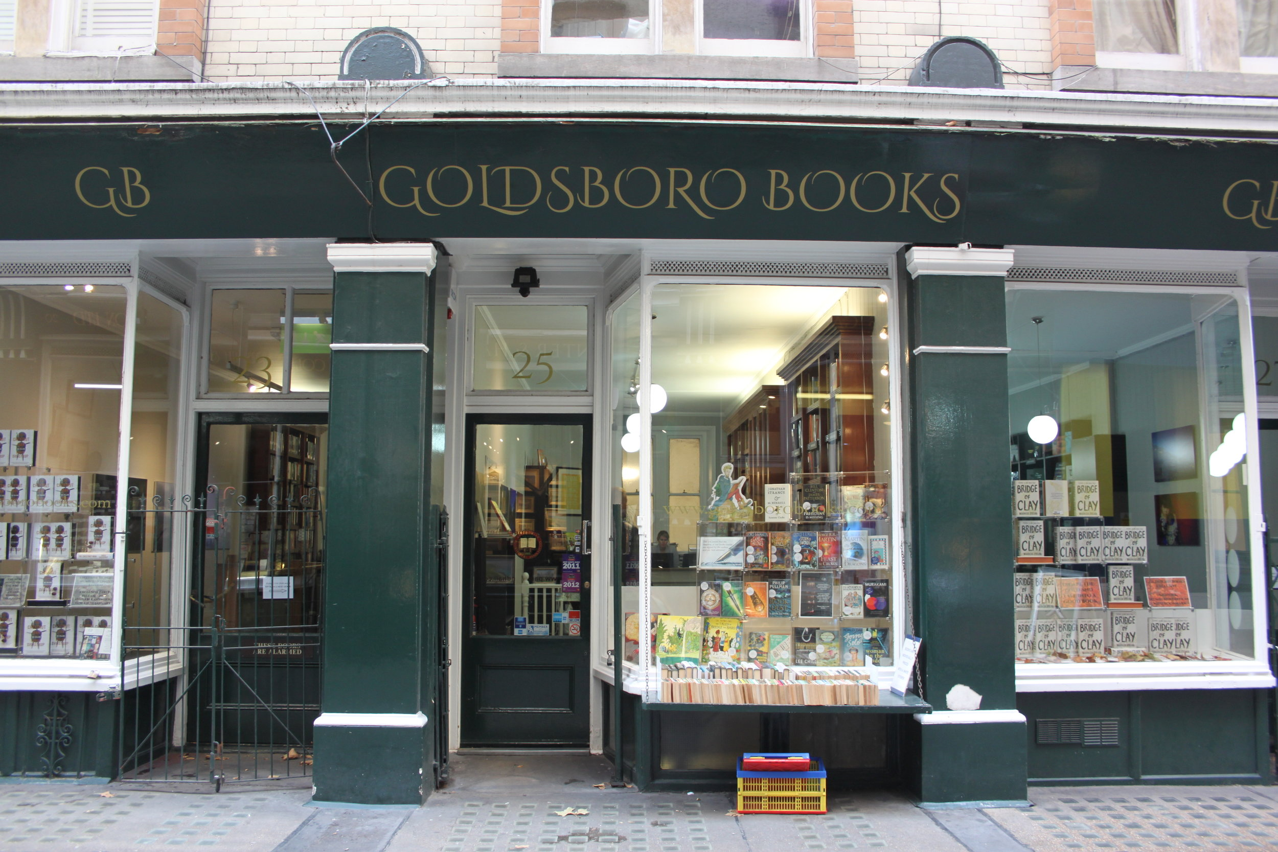 Goldsboro Books - Opening Hours:Monday to Friday 10am-6pmSaturday 11am-5pmCall: 020 7497 9230Email: enquiries@goldsborobooks.comMember of the BA and the ABA