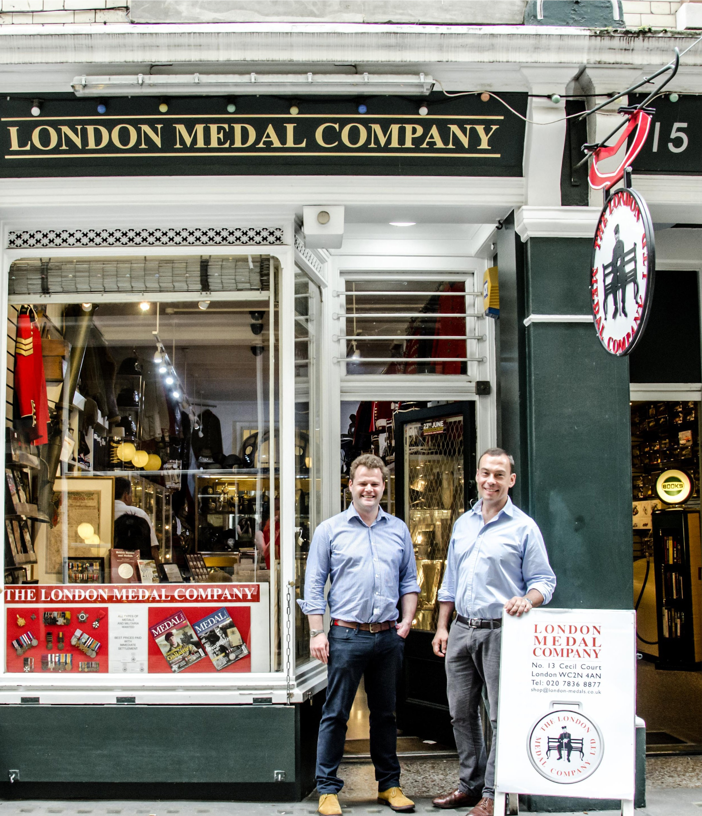 London Medal Company - Opening Hours:Monday to Friday 10am-6pmSaturday 10.30am-5pmCall: 020 7836 8877Email: shop@london-medals.co.ukMember of BADA and the OMRS