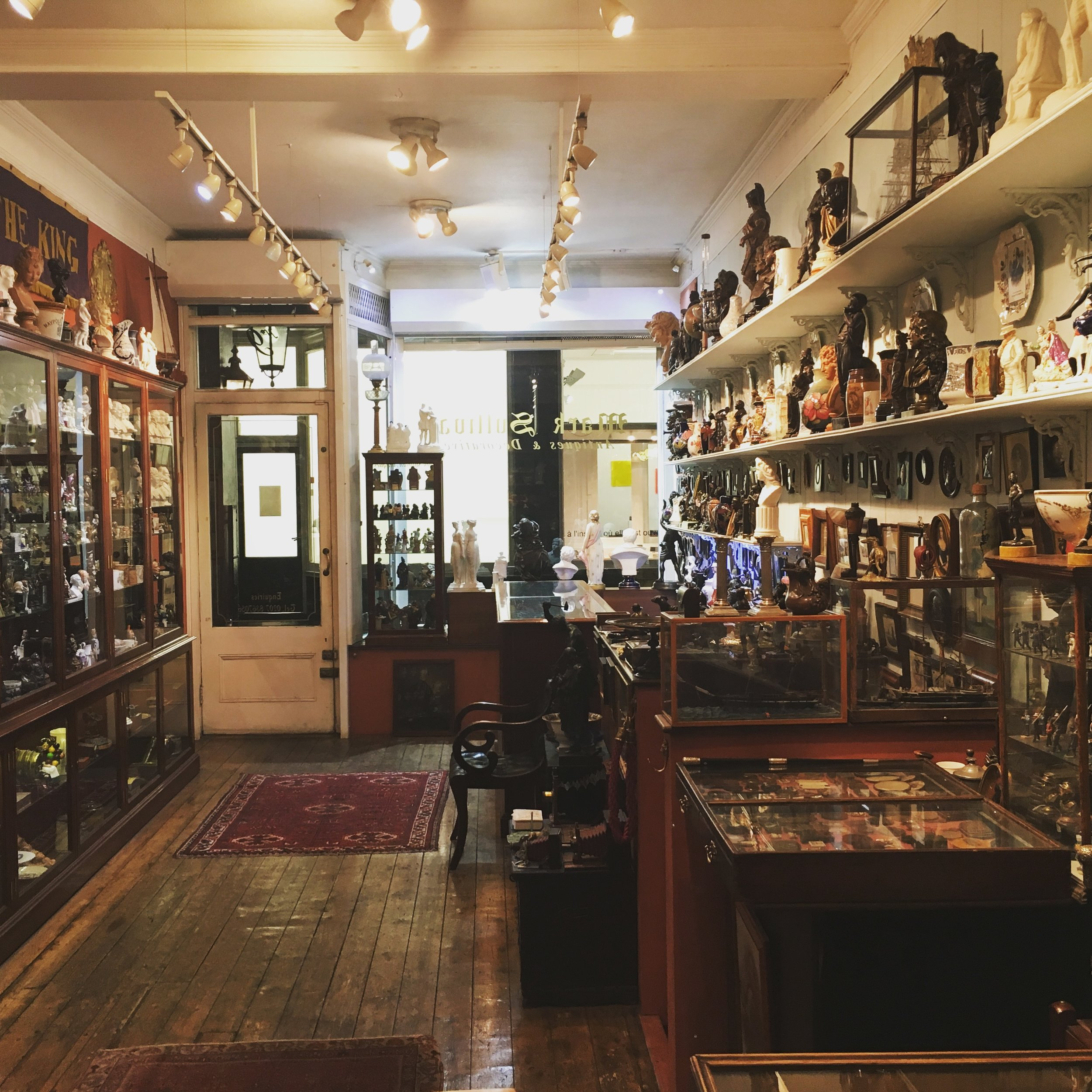Mark Sullivan Antiques & Decoratives - Opening Hours:Monday to Sunday 10am-7pmCall: 020 7836 7056Email: mark@marksullivanantiques.com               david@marksullivanantiques.com