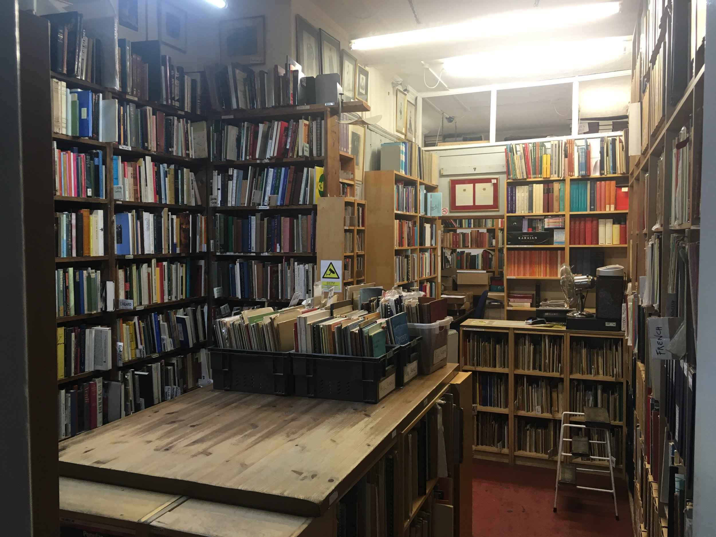 Travis & Emery Music Bookshop - Opening Hours:Monday to Saturday 10.15am-6.45pmSunday 11.30am-4pmCall: 020 7240 2129Email: cca@travis-and-emery.comMember of the ABA and the PBFA