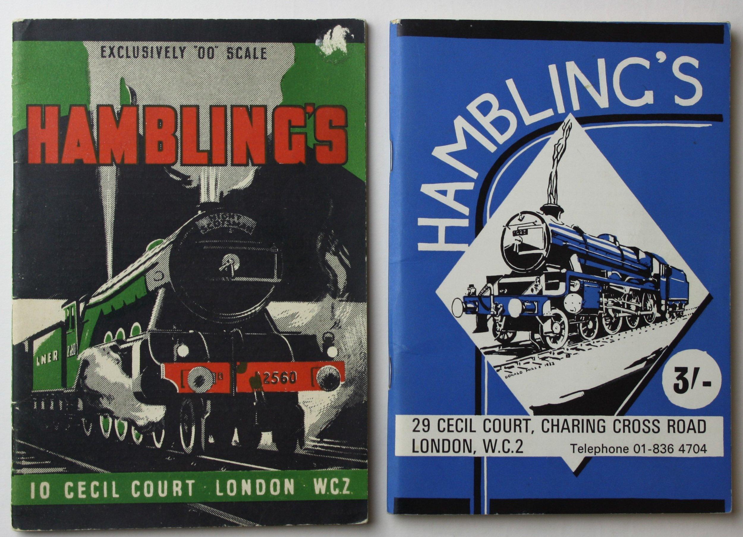 Hambling's catalogues, c. 1948 and 1968
