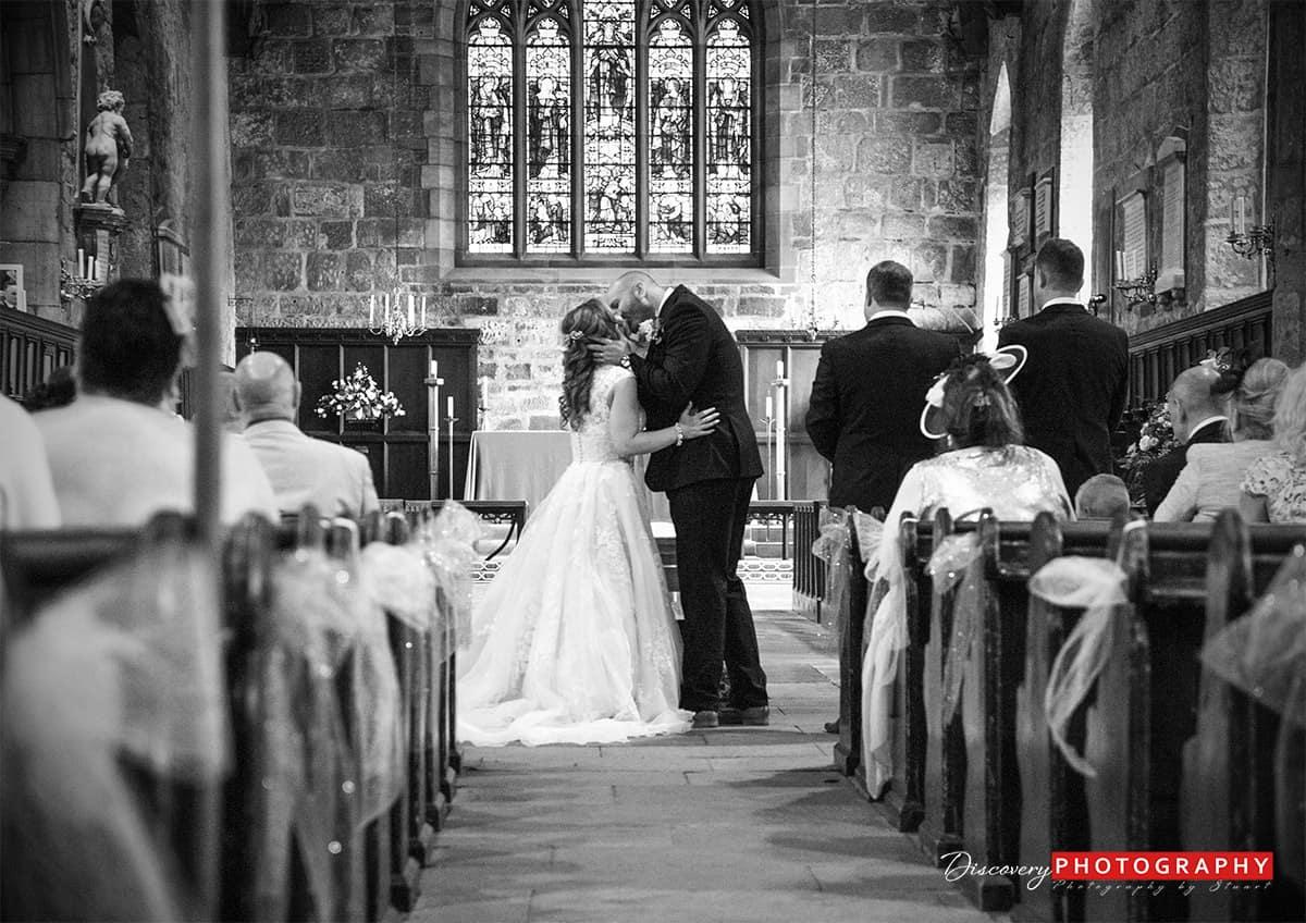 Steph and Karl gisborough hall wedding photography