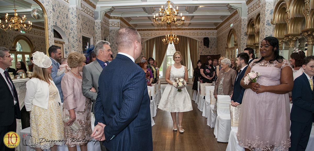 Rushpool Hall wedding photography Mark and Monica 2018 ceremony