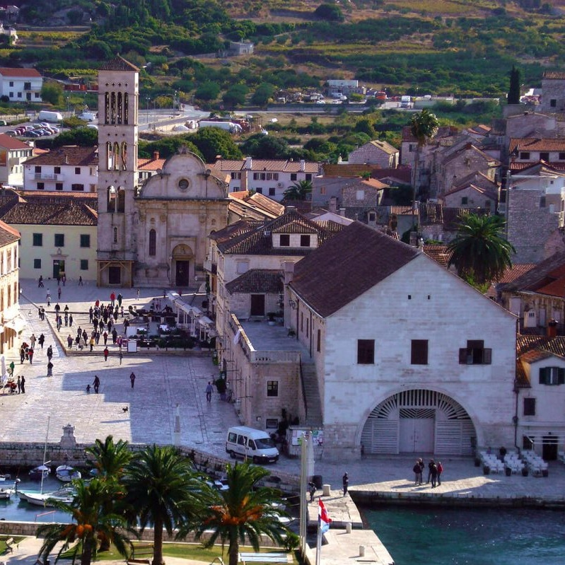 Culture - Visit the oldest public theatre in Europe, check out the views of Hvar Town from the top of the Spanish Fort, and much more.