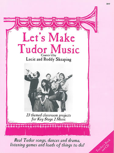 Let's Make Tudor Music - Stainer & Bell 1999, Runner-up, Times Educational Supplement Best Primary School Book Award.This exciting Key Stage 2 education project contains real Tudor songs, dances and drama, listening games and other things to do. Pack includes a Teachers Book, Pupils' Books and a beautifully produced 35-track CD to play along to. Suitable for specialist and non-specialist teachers wishing to broaden the scope of classroom musical activity.