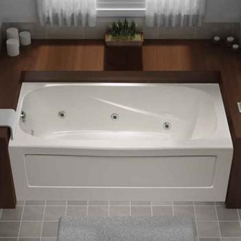 Mirolin Tucson 6 Jet Whirlpool Skirted Tub