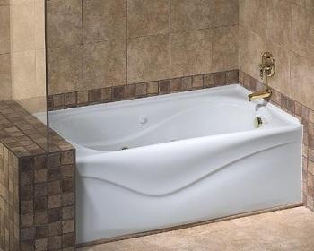 Vichy 10 Jet Whirlpool Skirted Tub